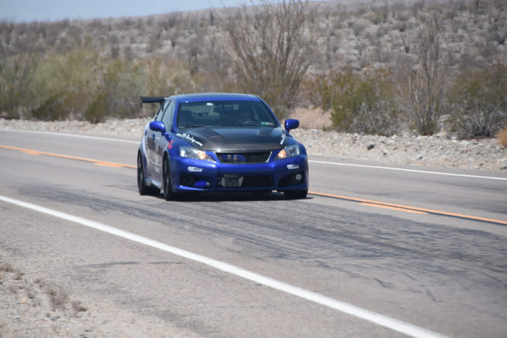 RR Racing Supercharged ISF at Borrego Desser