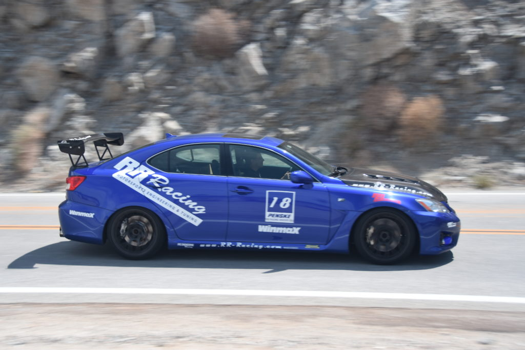 RR Racing Supercharged ISF -- Borrego Dessert Testing