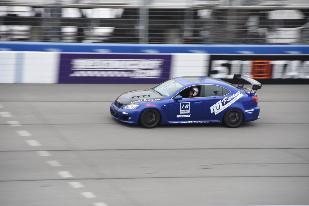 RR Racing IS-F at Auto Club Speedway Fontana